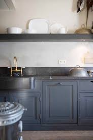 rustic blue gray kitchen cabinets 8 favorite kitchen cabinet paint colors according to