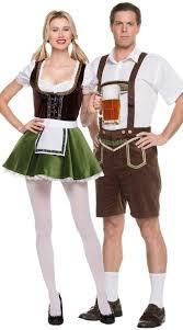 Referee Halloween Costume Men Bavarian Couples Costume Sultry Beer Maiden Costume Beer