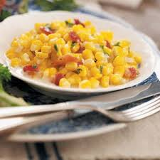 creamed corn with bacon recipe taste of home