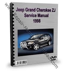 1998 jeep grand manual jeep grand zj 1998 service repair manual downlo