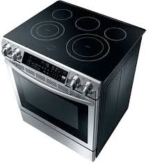 Lg Downdraft Cooktop Slide In Electric Stoves Samsung Downdraft Slide In Electric Range