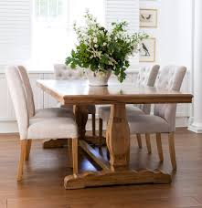Dining Room Chair Styles Farmhouse Style Dining Table Introducing The Charm Of Natural Wood
