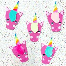 unicorn magnets the kids crafts blog
