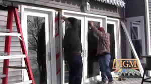 Swing Patio Doors Vinyl Swing Patio Door Installation