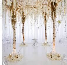 birch tree decor birch tree wedding decorations wedding corners