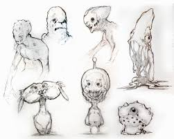 sketch book creatures april 08 by projecthybrid on deviantart