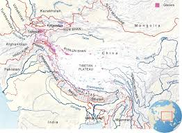 World Mountain Ranges Map by Pamir Mountains Physical Map Pamirs Mountain Range Map