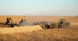 syrian desert iraq launches operation to clear desert near syria of islamic state