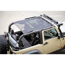 grey jeep wrangler 2 door rugged ridge 13579 06 wrangler jk eclipse sun shade black 2 dr 07 18