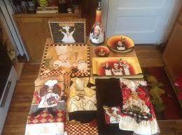 Chef Kitchen Decor Sets Italian Chef Kitchen Decor Set 2 Dan Dipaolo Wall Plaques 6