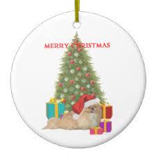 maggie ross pekingese ornaments keepsake ornaments zazzle