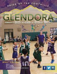 community services recreation guide city of glendora