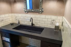 Trough Sink For Bathroom by Commercial Bath Sinks Concreteworks