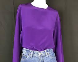purple silk blouse purple silk blouse etsy