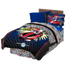 Mario Bros Bed Set Http Archinetix Mario Bros Speed Comforter Sheet