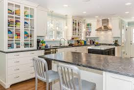 Cottage Kitchen Island Cottage Kitchen With Breakfast Bar U0026 L Shaped In West Orange Nj