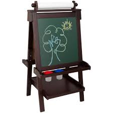 home decoration awesome espresso chalkboard easel for kids