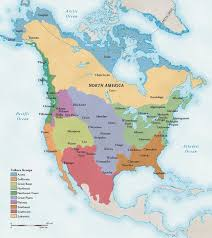map of american american cultures national geographic society