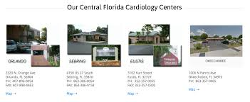 Sebring Florida Map by Four Locations To Best Server You Cardiology Consultants Orlando