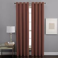 95 Inch Curtain Panels West End Grommet 95 Inch Light Filtering Window Curtain Panel In