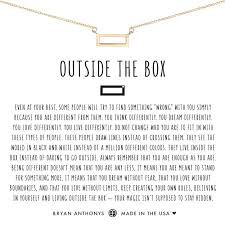 box necklace images Outside the box dainty necklace bryan anthonys jpg
