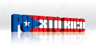 Cuba And Puerto Rico Flag 3d Vector Puerto Rico Word Text Flag Royalty Free Cliparts