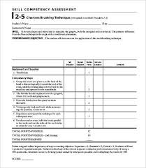 sample needs assessment templates to download for free