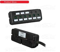 emergency vehicle light controller 39 emergency vehicle light control box police car switch control