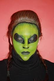 simple alien makeup holiday decorating pinterest alien
