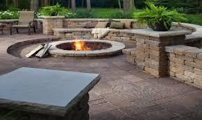stone paver patio cost diy stone patio ideas home decor brick pavers