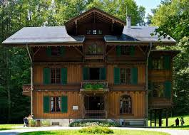 the swiss chalet arts crafts homes and the revival built in 1872 for a well to do textile manufacturer this finely appointed