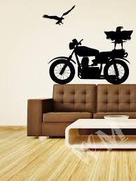 21 motorcycle wall decals motorcycle vinyl wall decal motorcycle home wall decals stickers vintage wall decals motorcycle