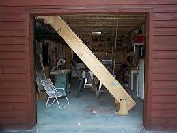 stainless attic ladder installation option install garage attic