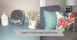 stores for home decor thrift store home decor haul youtube