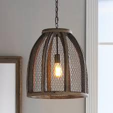 chicken wire pendant light large wire pendant chicken wire
