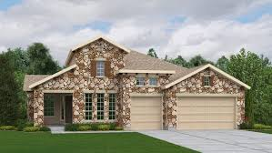 Luxury Ranch House Plans For Entertaining Overlook 75 U0027s At The Ranch At Brushy Creek New Homes In Cedar