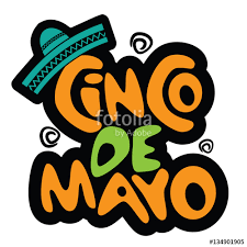 cartoon cinco de mayo cinco de mayo hand drawn lettering design festive and fun cartoon