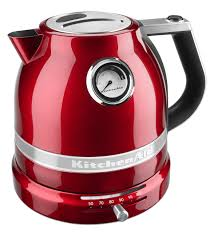 pro line series electric kettle kek1522ca candy apple red