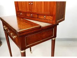bureau bonheur du jour bonheur du jour bureau à rideaux acajou estillé nicolas petit