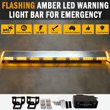 warning light bar amber amber led warning light bar emergency safety hazard beacon