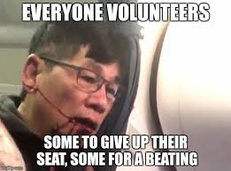 Volunteer Meme - when flying united you volunteer for one or the other imgflip