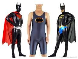 superhero batman costume zentai unitard lycra spandex