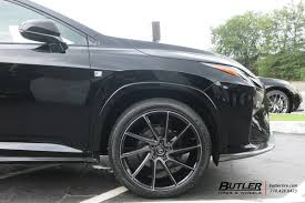 lexus rx off road tires lexus rx with 22in savini bm15 wheels exclusively from butler