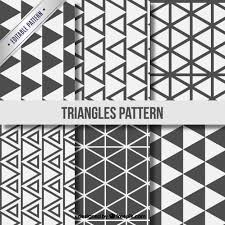 triangle pattern freepik triangle patterns collection vector free download