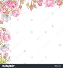 Invitation Card With Photo Greeting Card Roses Watercolor Can Be Stock Illustration 367736996