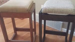 Old Wooden Furniture How To Refinish Wood Furniture Old Bar Stools Youtube