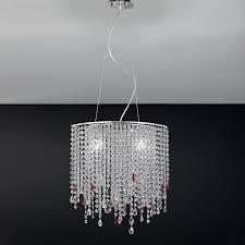 ladari cristallo prezzi ladario design moderno con pendagli cristallo alyssa antea luce