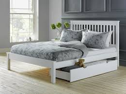 White Small Double Bed Frame by King Size Or A Queen Size Double Bed Gives A Royal Touch To Your