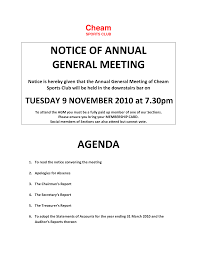 Annual Meeting Agenda Template by 10 Best Images Of Sample Notice Of Annual Meeting Meeting Notice