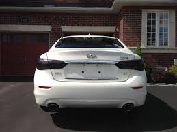 tail light tint installation tinted tail lights infiniti q50 forum